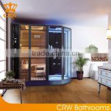 AG0006 far infrared Steam Sauna Shower Combination