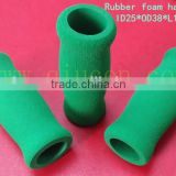 110mm Long Foam Grip For 25mm Pipe / 25mm Foam Rubber Tube / Colored Sponge Silicone Grip