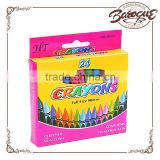 Wholesale high quality non toxic twistable wax color kids crayon set,bulk crayons manufacturer for kids