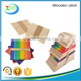 2016 High Quanlity wooden Ice Cream Sticks and with colour Ice Cream Sticks in China factory