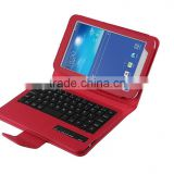 slide bluetooth wireless keyboard case for samsung Tab3 7.0inch Lite T110/T111-SA01