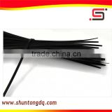high quantity black wire Self-Locking Type and PA66 nylon plastic fastener