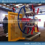 Plastic double-weels winding machine