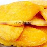 Yellow peach chips VF dried fruit snacks