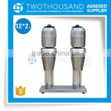 Double Head Steel Body Stainless Steel Cup Electric Cocktail Shaker