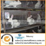 Galvanized square welded chicken/rabbit/mink cage wire mesh animal cage welded wire mesh
