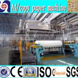 zhengzhou guangmao 2200mm 30TPD Double-dryer Can news culture Paper Making recycling Machinery