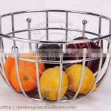 simple round fruit basket banana holder