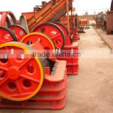 Jaw crusher used for crushing fluorite