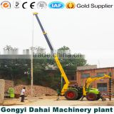 pile driver earth drilling machine hydraulic earth digger for Highway bridge construction