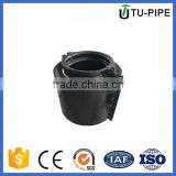 stainless steel pipe clamp rubber ring for plastic water pipe