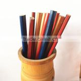 7 Inche HB lead wooden round carpenter pencils with custom logo