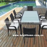 Restaurant Rattan Table and Chair