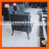 China made cast iron wood burning cooking stove