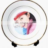 Ceramic sublimation plate of souvenir