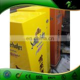 China Sell Yellow High Quality Advertising Acrylic Cube With LED Lighting For Sale