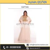 Superior Soft Material Made Kaftan Available from Leading Supplier