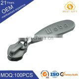 Movable Head Design Custom Metal Zipper Puller