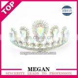 Wholesale rhinestone bride tiara wedding jewelry bridal crown promotion