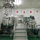 China real manufacture emulsifying homogenizer mixer machine/vacuum emulsifying homogenizer equipment