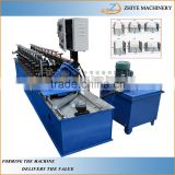 Automatic Metal Frame Stud And Runner C U Shaped Bar Furring Channel Machine