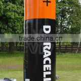 Longchuang giant inflatable battery with logo for pomotion advertising