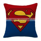 Factory selling New Children Big hero style linen and cotton throw Pillow Case