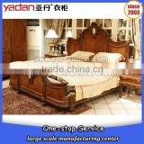 customize 5 star hotel furniture king size and queen size wooden bed frame                                                                                                         Supplier's Choice