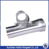 oem high demand cnc machining parts anodized machining aluminum pipe tube steel pipe aluminum cnc parts