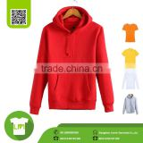 Bright red large size fashion hoody, Windproof winter Warm man hoody sweater