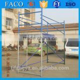 'walk through frame scaffolding with c lock