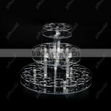 Clear 8 Booths Acrylic Pen Holder Pen Display Stand Cigarette Holder E Cig Display Stand