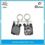 Lovely Soft Rubber Key Chain/3d PVC Key Chain