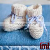 Baby Cashmere Crocheted Socks or Slipper Socks