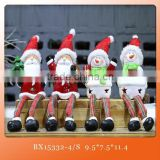Wholesale native custom hanging ceramic Christmas tree door craft supplies christmas decoration for gift