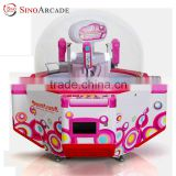 Sinoarcade Hottest 4 Players Coin-op Arcade Gift Toy Candy Pusher Game Machine for Adults