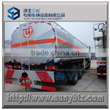 30 m3 SHACMAN DELONG 8X4 fuel delivery tank truck, Oil tank transport vehicle