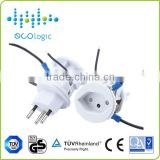 INquiry about ODM Universal US\UK\French\German\Australia\Italian\Swiss power plug with socket