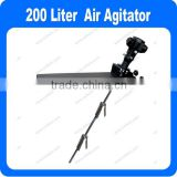 Air Pneumatic Mixer Air Agitator For 200 Liter Drum