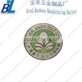 China golf club customeized metal Plated golf ball markers
