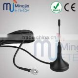 Competitive price &quality 868MHz antenna magnet mount Whip antenna with 1.5m/3m/5m cable