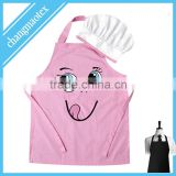 waterproof printed kids apron