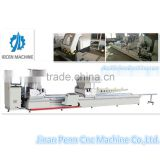 Double heads mitre saw cutting door machine with Cutting width and height 135*300-90, 135*200-45