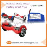 Battery for bluetooth scooter hoverboard samsung battery for smart balance scooter UL certification                                                                         Quality Choice