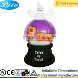 DJ-XT-09 inflatable boo ball halloween decoration ghost lighted
