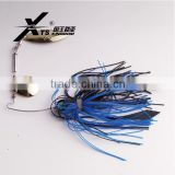 7g,10.5g,14g Fishing Jig Heads Silicone Fishing Skirts