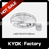 KYOK Pole System series Kitchen revolving round shelf ,Round Goblet Rack,Pull Out Wire Baskets For Storage