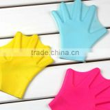 silicone rubber swimming fins for hands silicone sailor webbed palm flying webbed gloves