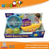 Baby bathroom play set bath toy, bath toy organizer, tub town bath toy