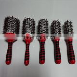 wholesale price high quality boar bristle mix nylon ceramic hair brush
